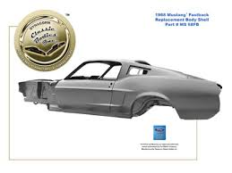 1968 mustang dimensions dynacornbodies com 1965 1970 mustang replacement shell