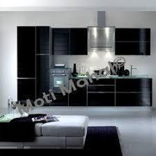 Straight Line Kitchen Designs Designer Modular Kitchens Island Kitchen Manufacturer From Chennai