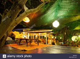 thailand bungalows resort and restaurant at koh mak island stock