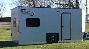 legend fish houses legend ice house builds custom mobile houses