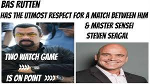 Bas Rutten Meme - steven seagal meme dating seagal best of the funny meme