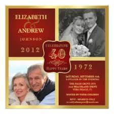 40th anniversary invitations rustic wedding anniversary invitations helping make