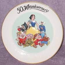 60th anniversary plates filmic light snow white archive commemorative plates 50th