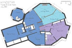 Dome Floor Plans by The Wyndstar Dome Designs