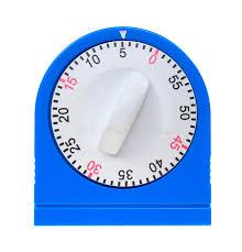 minuterie de cuisine vue de d une minuterie bleue de cuisine photo stock image du