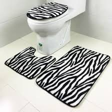 Zebra Bathroom Ideas Black And White Striped Bathroom Set Living Room Ideas