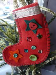 sewing with kids felt christmas tree stocking decoration tutorial