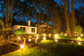 Outdoor Water Features With Lights by Outdoor Landscape Lighting Ideas