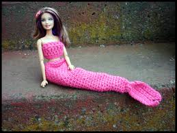 mamma that makes barbie mermaid tail free crochet pattern