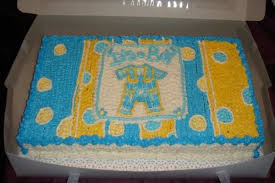 baby shower boy sheet cakes bbb0bd57