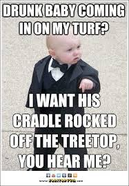 Godfather Baby Meme - godfather baby declares war on drunk baby ohbabybaby pinterest
