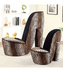 Leopard Print Swivel Chair Small Accent Chair In Leopard Print Cm Ac6807lp S Furniture Of