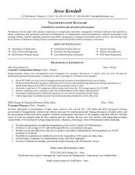 transportation resume examples hub delivery driver resume example