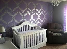 Purple Nursery Decor Baby Nursery Decor Ideas Bedding Purple Baby Nursery Crib