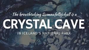 crystal blue ice cave svmnafellsjvkull in skaftafell national