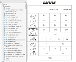claas tractor nectis 207 workshop service manual pdf repair