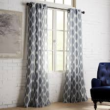 Pier One Paisley Curtains by Pineapple Ikat Blue Grommet Curtain Pier 1 Imports
