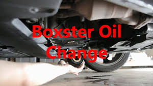 Porsche Boxster Oil Change Beatthebush Youtube