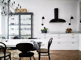 black and white kitchen decorating ideas what colour walls