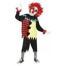 Evil Clown Halloween Costume Scary Clown Costume Ebay