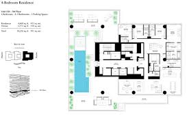 one palm by omniyat palm jumeirah floor plan details layout plan