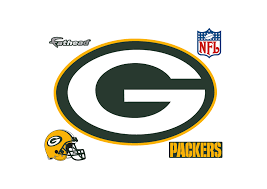 Green Bay Packers Flags Green Bay Packers Logo Wall Decal Shop Fathead For Green Bay