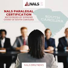 nals paralegal certification recognized by supreme court of south