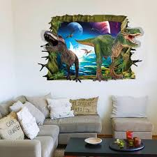 Dinosaur Bathroom Decor by Large 60 90cm 3d Effect Dinosaur Self Adhesive Vinyl Removable