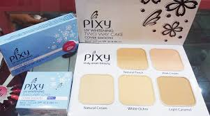 Bedak Pixy White my lasting daily makeup ft pixy two way cake cover smooth