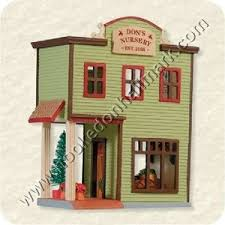 hallmark ornament nostalgic houses and shops don s nursery 2008