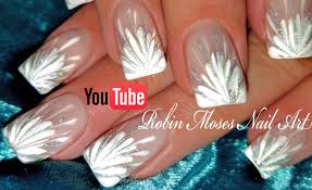 robin moses nail art no water needed diy white starburst drag