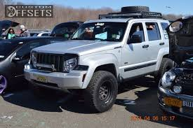 jeep liberty lifted 2009 jeep liberty cragar d window custom suspension lift 4in