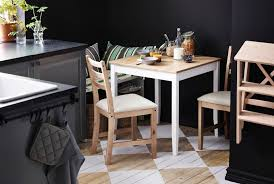 Kitchen Folding Table And Chairs - small kitchen table and chairs for four double bar stretcher black