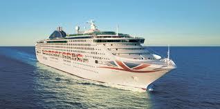 p o cruises oceana to feature on itv s lorraine p o cruises