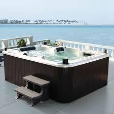 Outdoor Bathtubs Ideas Portable Whirlpool For Indoor Or Outdoor Great Joy Hum Ideas