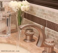 bathroom backsplash glass tile metal back splash bathroom backsplash glass tile metal back splash with inlay