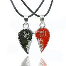 key choker necklace images Men women couple heart jewelry best friend christmas gift lock key jpg