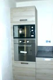 fixation meuble haut cuisine leroy merlin meuble four haut cuisine complate de 320 cm avec colonne four encas