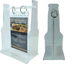 restaurant table top display stands looking to display your new food and drink items right on the tables