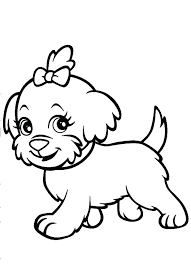 coloring page of a big dog coloring pages dogs as dog coloring pages printable printable dog