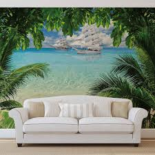 tropical beach island photo wallpaper mural 2598wm beach tropical beach island photo wallpaper mural 2598wm