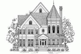 Queen Anne House Plans Historic Eplans Queen Anne House Plan Old Victorian Charm 2996