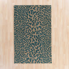 Blue Animal Print Rug Flooring Best Collection Animal Print Rugs For Home Flooring