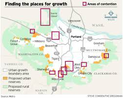 Portland Oregon County Map by The Quest To Designate Portland U0027s Growth Areas Sets Counties