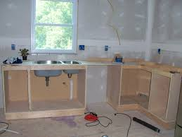 Homemade Kitchen Cabinet How To Build Kitchen Cabinets With Stylish Build Kitchen Cabinets