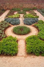 Garden Layout by Herb Garden With Mulches And Walkway Good Herb Garden Layout