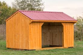 Loafing Shed Plans Horse Shelter by How To Position Your Run In Shed Byler Barns