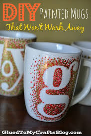 decorate your own tea cup diy painted mugs that won t wash away craft glued to my crafts