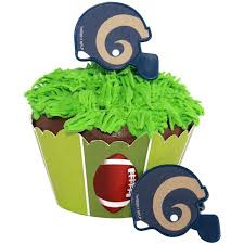 football cake toppers football cake toppers add to cart a rams cupcake rings 8
