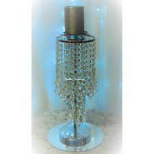 wedding candle holder centerpieces wedding crystal candelabra